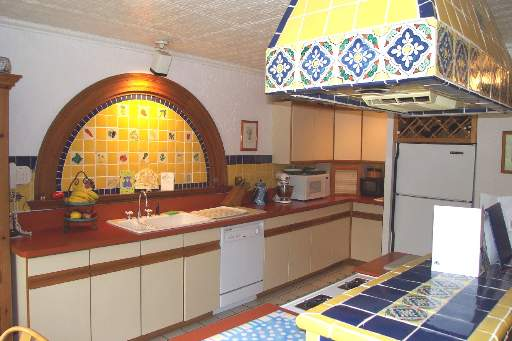 spanish hacienda kitchen
