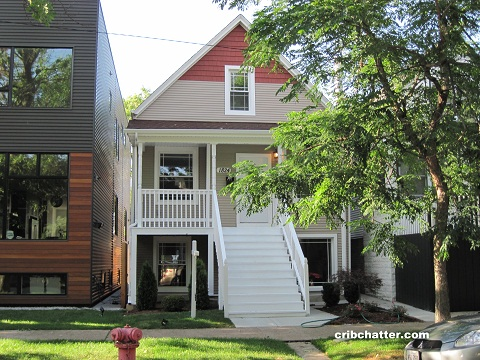This rehabbed 4 bedroom house just raised its price for 707 w junior terrace chicago