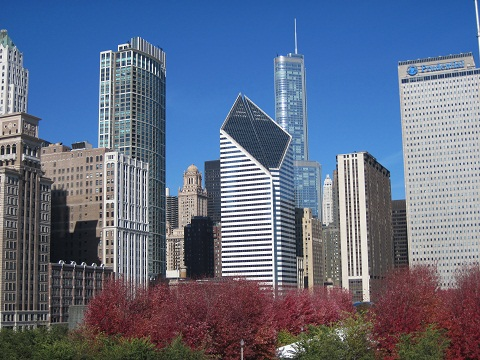 Chicago skyline November 2010 final