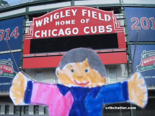 flat-stanley-at-wrigley-field
